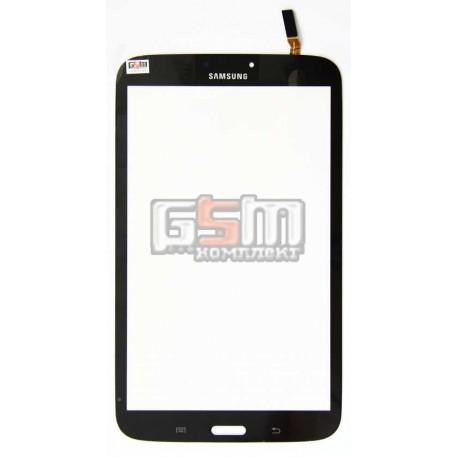 Tачскрин (сенсорный экран, сенсор ) для планшета Samsung T3100 Galaxy Tab 3, T3110 Galaxy Tab 3, черный, (версия WI-FI)