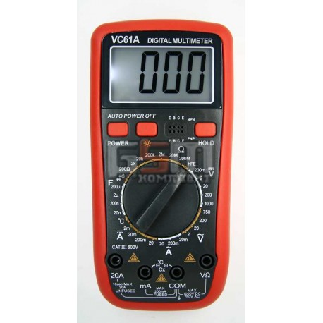 Мультиметр VC61A
