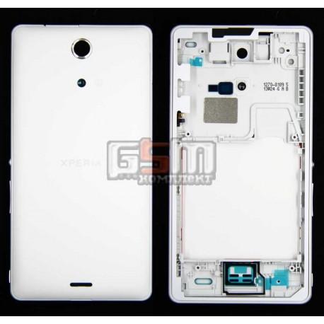 Корпус для Sony C5502 M36h Xperia ZR, C5503 M36i Xperia ZR, белый
