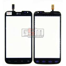 Тачскрин для LG D325 Optimus L70 Dual SIM, черный, (124*64мм)