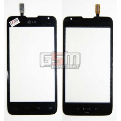 Тачскрин для LG D285 Optimus L65 Dual SIM, черный