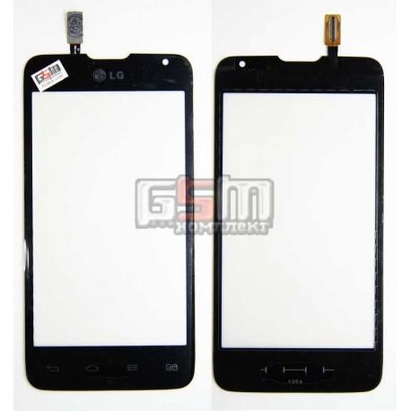 Тачскрін для LG D285 Optimus L65 Dual SIM, чорний
