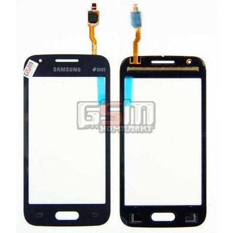 Тачскрин для Samsung G313HN Galaxy Ace 4, G313HU Galaxy Ace 4 Duos, синий