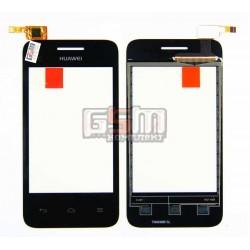 Тачскрин для планшета Huawei Ascend Y220, черный