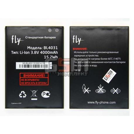 Аккумулятор BL4031 для Fly IQ4403 Energie 3, original, (Li-ion 3.8V 4000mAh), #200200307/200200267