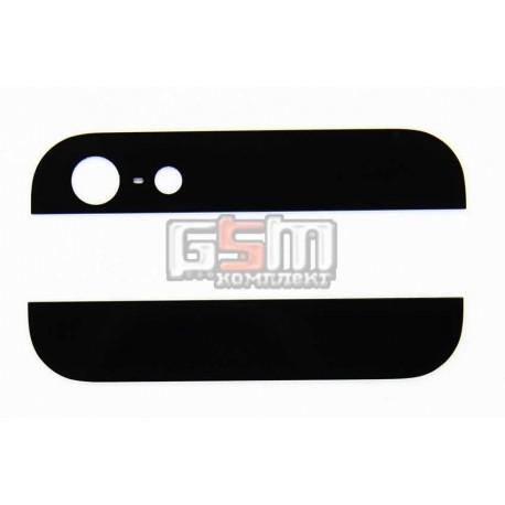 Верхняя + нижняя панель корпуса для Apple iPhone 5, черная
