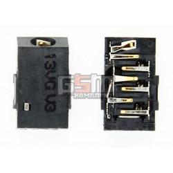 Коннектор handsfree для Nokia 112, 113, 300 Asha, 303 Asha, 308 Asha, 309 Asha, 311 Asha, C2-05, C3-01, C5-01, C5-03, C6-00, C6-01, E6-00, E7-00