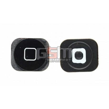 Пластик кнопки меню для Apple iPhone 5, черный