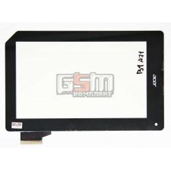 Тачскрин для планшета Acer Iconia Tab B1-A71, черный, #MCF-070-0899-FPC-V1.0
