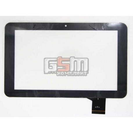 """Tачскрин (сенсорный экран, сенсор) для китайского планшета 9"""", 50 pin, с маркировкой MF-506-090F, 166-T, размер 235*144, черный"""