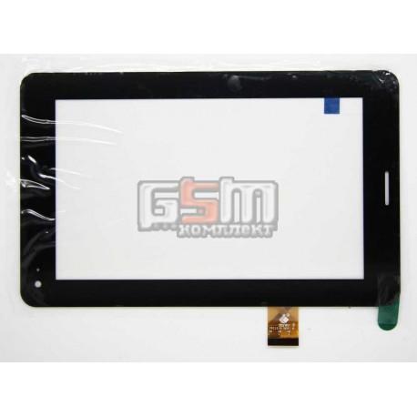 """Tачскрин (сенсорный экран, сенсор) для китайского планшета 7"""", 30 pin, с маркировкой TPC1219 VER1.0, для Megafon Login 2, размер"""