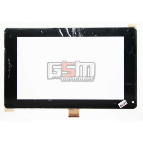 """Tачскрин (сенсорный экран, сенсор) для китайского планшета 7"""", 51 pin, с маркировкой M3702-F2-VER1.1, HINHAO JZH, размер 190*116"""