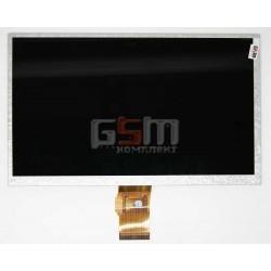 Экран (дисплей, монитор, LCD) для китайского планшета 9, 50 pin, с маркировкой BLC900-06B, HW90F-0A-0A-10, KPI20209, HDZ090BOEP50-18