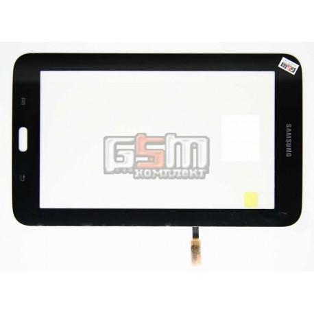 Тачскрин для планшета Samsung T110 Galaxy Tab 3 Lite 7.0, T113 Galaxy Tab 3 Lite 7.0, T115 Galaxy Tab 3 Lite 7.0, черный, (верси