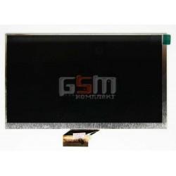 """Экран (дисплей, монитор, LCD) для китайского планшета 7"""", 50 pin, с маркировкой FPC-Y82858 V02, PBH 1438, 140702 DZX4F, FPC-B070"""