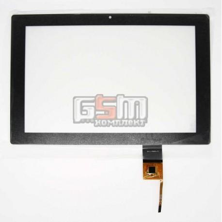 """Тачскрин (сенсорный экран, сенсор ) для китайского планшета 10.1"""", 6 pin, с маркировкой AD-C-100409-FPC, для VastKing M1072R-3G,"""