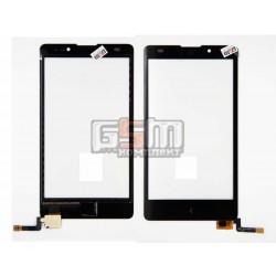 Тачскрин для Nokia XL Dual Sim, черный