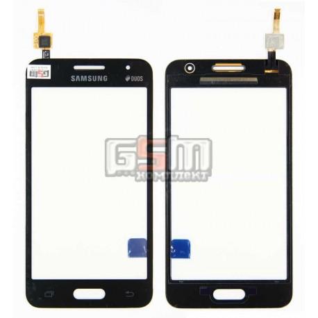 Тачскрин для Samsung G355H Galaxy Core 2 Duos, черный