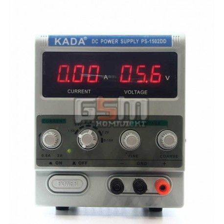 Лабораторный блок питания KADA 1502DD 15V 2A цифровая индикация