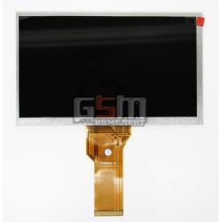 Экран (дисплей, монитор, LCD) для китайского планшета 7, 50 pin, с маркировкой 20000600-12, AT070TN93 V.2, AA0700015201, размер 165*100, толщина 3mm