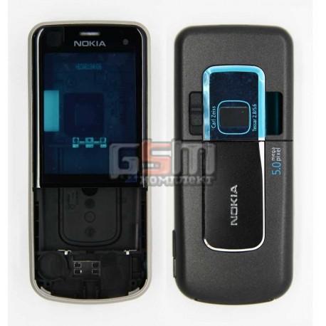 Корпус для Nokia 6220c, серый, копия ААА
