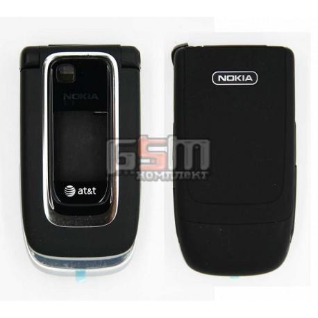 Корпус для Nokia 6131, копія AAA, чорний з розборки