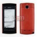 Корпус для Nokia 5250, червоний, копія ААА
