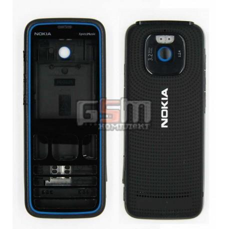 Корпус для Nokia 5630, синий, копия ААА
