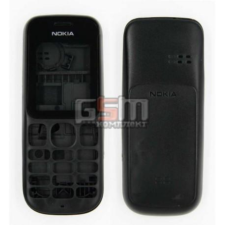 Корпус для Nokia 100, черный, копия ААА