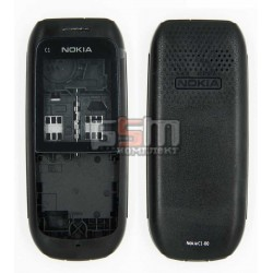 Корпус для Nokia C1-00, копия AAA, черный