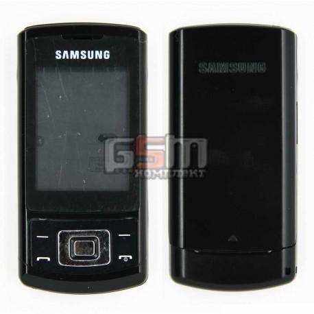 Корпус для Samsung S3500, черный, high-copy