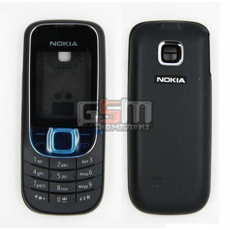 Корпус для Nokia 2330c, копия AAA, черный