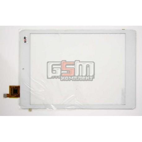 """Tачскрин (сенсорный экран, сенсор) для китайского планшета 7.85"""", с маркировкой AD-C-801092-GG-V01, размер 194*133 мм, белый"""