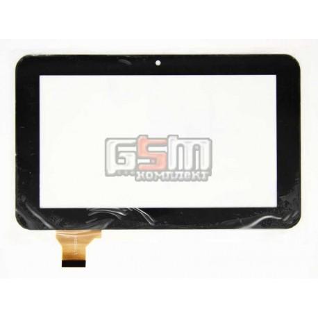 """Tачскрин (сенсорный экран, сенсор) для китайского планшета 7"""", 30 pin, с маркировкой LT70020A1, для Ainol Novo 7 Rainbow, размер"""