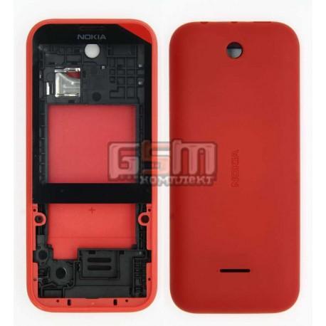 Корпус для Nokia 225 Dual Sim, красный
