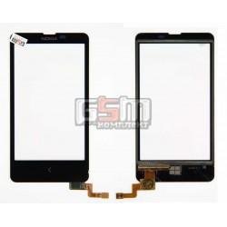 Тачскрин для Nokia X Dual Sim, черный
