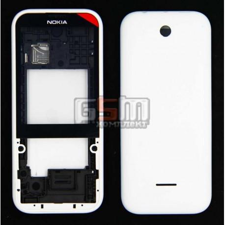 Корпус для Nokia 225 Dual Sim, белый