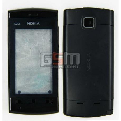 Корпус для Nokia 5250, серый, high-copy