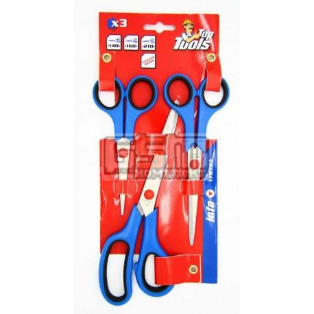 Набор ножниц TopTools 17B723 140мм 160мм 210мм