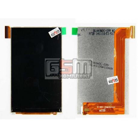 Дисплей для Fly IQ4490i, original, 45 pin, #X4038F0002/FPC040W0C-S96-B