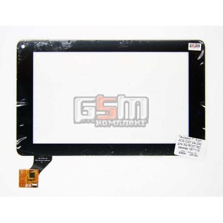 """Tачскрин (сенсорный экран, сенсор) для китайского планшета 7"""", 6 pin, с маркировкой ACE-CG7.0A-230, для 3Q RC0718C, размер 187*1"""