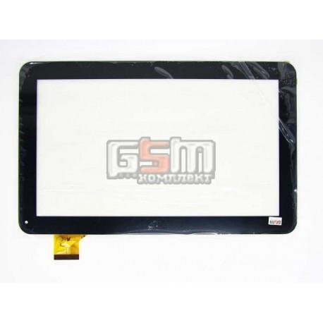 "Tачскрин (сенсорный экран, сенсор) для китайского планшета 10.1"", 45 pin, с маркировкой YCF0464-A, CTD FM102101KA, WJ608-V1.0, д"