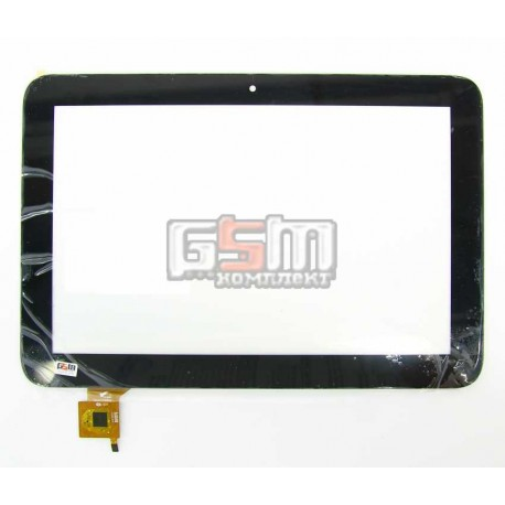 "Тачскрин для китайского планшета 10.1"", 6 pin, с маркировкой PINGBO PB101JG8701, для Prestigio MultiPad 4 Quantum 10.1 3G PMP510"