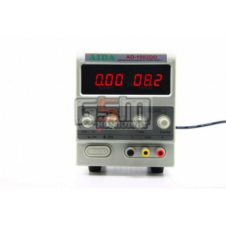 Лабораторный блок питания AIDA AD-1502DD цифровая индикация
