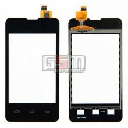 Тачскрин для Prestigio MultiPhone 3350 Duo; Explay A351, черный, #CS035X-LC3A