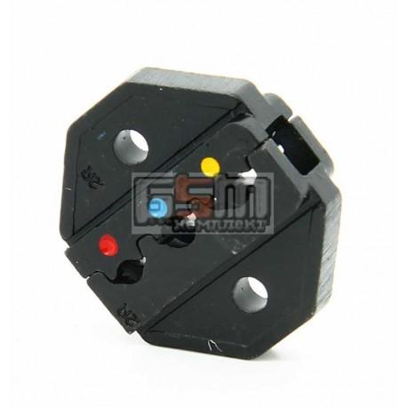 Матрица Pro'sKit CP-236DR для кримпера CP-372B (разъемы AWG 22-18/16-14/12-10)