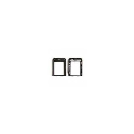 Верхняя панель со стеклом для Nokia 8600 Luna (ориг. сапфир)