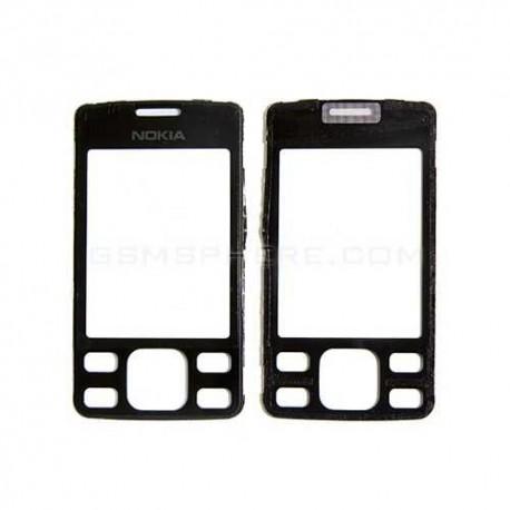 Стекло корпуса для Nokia 6300, черное