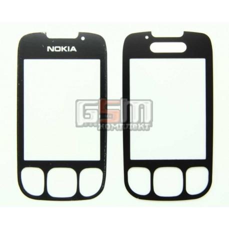 Стекло корпуса для Nokia 6303, 6303i, черный