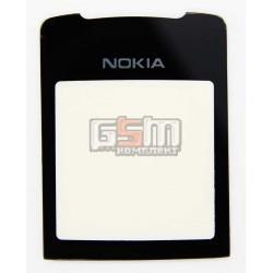 Стекло корпуса для Nokia 8800 Sirocco, черное